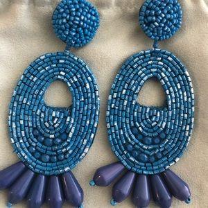 Kenneth J Lane large statement earrings